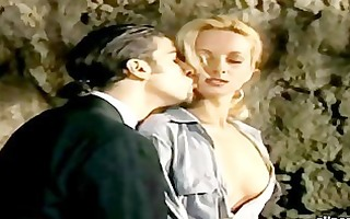 blonde prisoner getting double penetration for