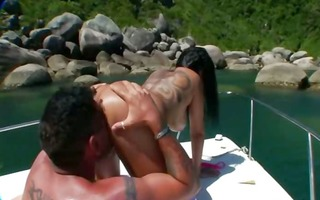 unfathomable bottom outdoor sex with wench