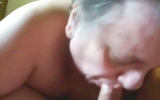 my granny engulf my cock. mommys and grannies