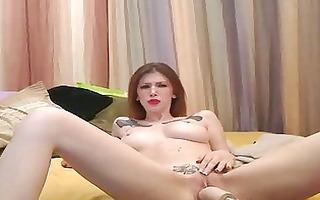 fucking machine webcam with indigo augustine