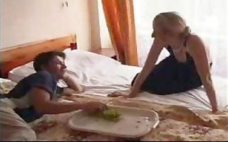 tiny russian mature and younger amateur mama