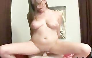 big tit college amateurs get drilled