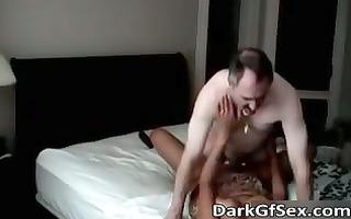 naughty hawt milf swarthy bitch receives her