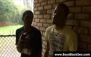 blacks thugs breaking down sissy white boyz hard