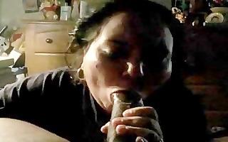 hefty aged paki muslim bibi wife engulfing large