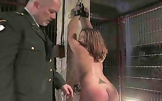 busty prisoner used as sex villein