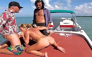 honey acquires banged by on boat