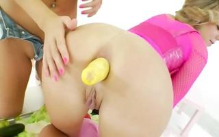 seductively hard anal playing