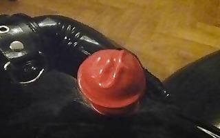 latex orgasm