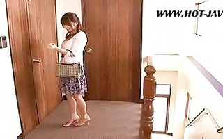 asian wife fucks the repair guy