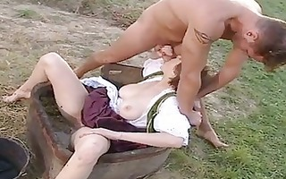 outdoor loving hottie jane darling eagerly takes