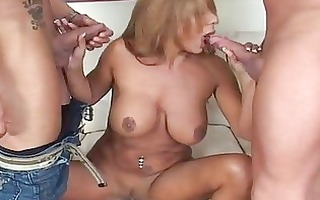 demi delia acquires a spit roast session with