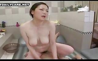 washroom asians