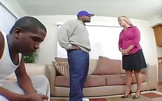 blond milf curly cunt dark penis