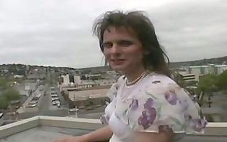 impure transgender shooting goo in goblet
