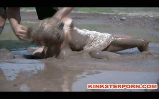 outdoor sadomasochism mud villein disgrace
