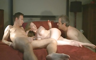 golden-haired wife receives pounded whilst hubby