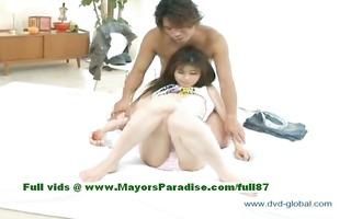 yuzuru virginal nice-looking japanese girl