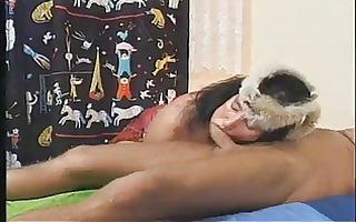 fuck with hirsute big beautiful woman granny