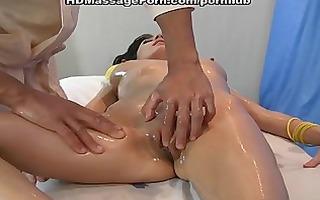 titted dark brown screwed on a massage