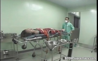 bdsm body exam by perverted doctor who play
