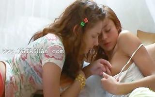 eager russian lesbian bawdy cleft eat