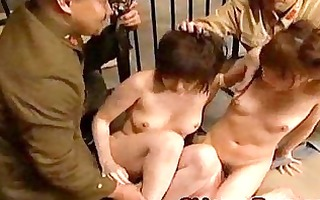 japanese forced to take up with the tongue pussy