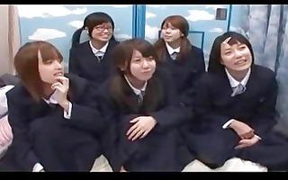 japanese school girlpart1