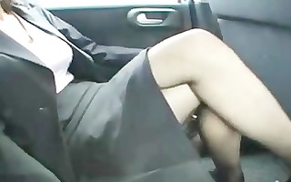mature drilled in nylons