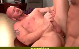 gayhole foot lengthy pounder smiles for the