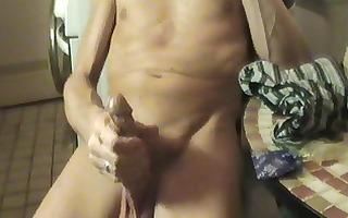 2 cocks henndrik cum on pants jan in cock-sock
