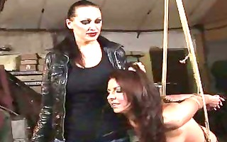 horrid domme punishing girl