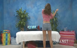 beauty drilled after massage