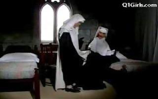 abbess in hawt underware spanking nun getting her