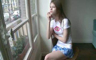 beata schoolmate awaiting her boyfriend