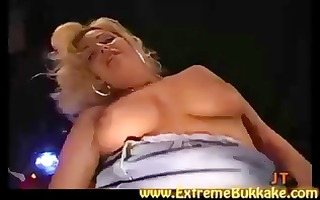breasty blond jenny acquires a dong in every end