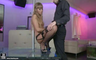 hot stripper meets the needs of her important