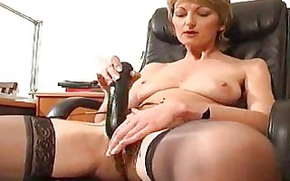 aged estelle lets you watch her mommy pussy
