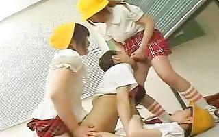 lesbian humiliation gang team fuck