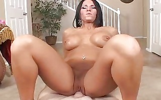 hawt butt tattooed milf sucks and rides hard boner