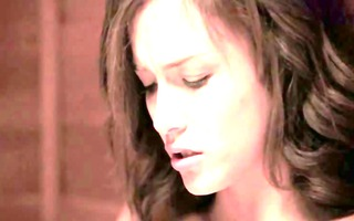 love betwixt lesb honeys in sauna