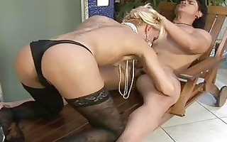 lady-man receives drilled and fisted