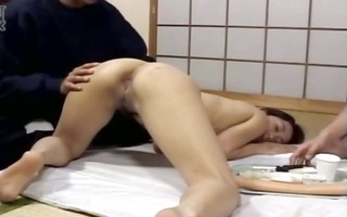 bizarre korean deep anal team fuck