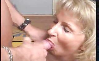 granny moni gives fellatio by rb