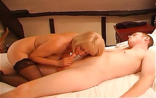 milf copulates her youthful lover
