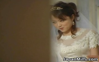 asian bride receives hardcore group fucking part1