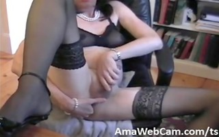 donna queen receives impure while camming once