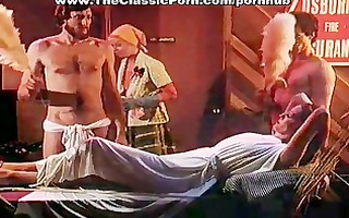 retro group porn movie scene