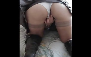 upskirt shots of those babes rubbing love tunnel