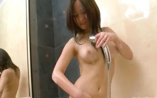 mad bath masturbation in motel room